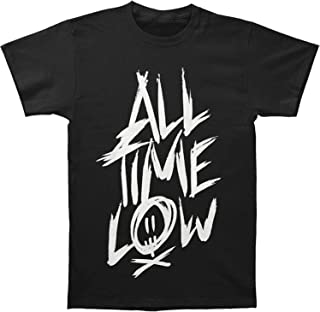 All Time Low Band Scratch Name Logo Slim Fit