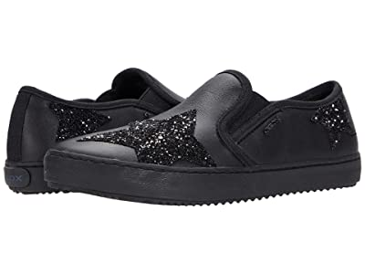 Geox Kids Kalispera 43 (Little Kid/Big Kid) (Black) Girl