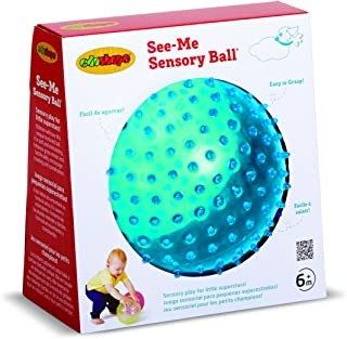 Edushape Sensory Ball for Baby and Toddlers (7 in) - Fine Motor Skills Developmental Toy for Babies, Toddlers, Assorted