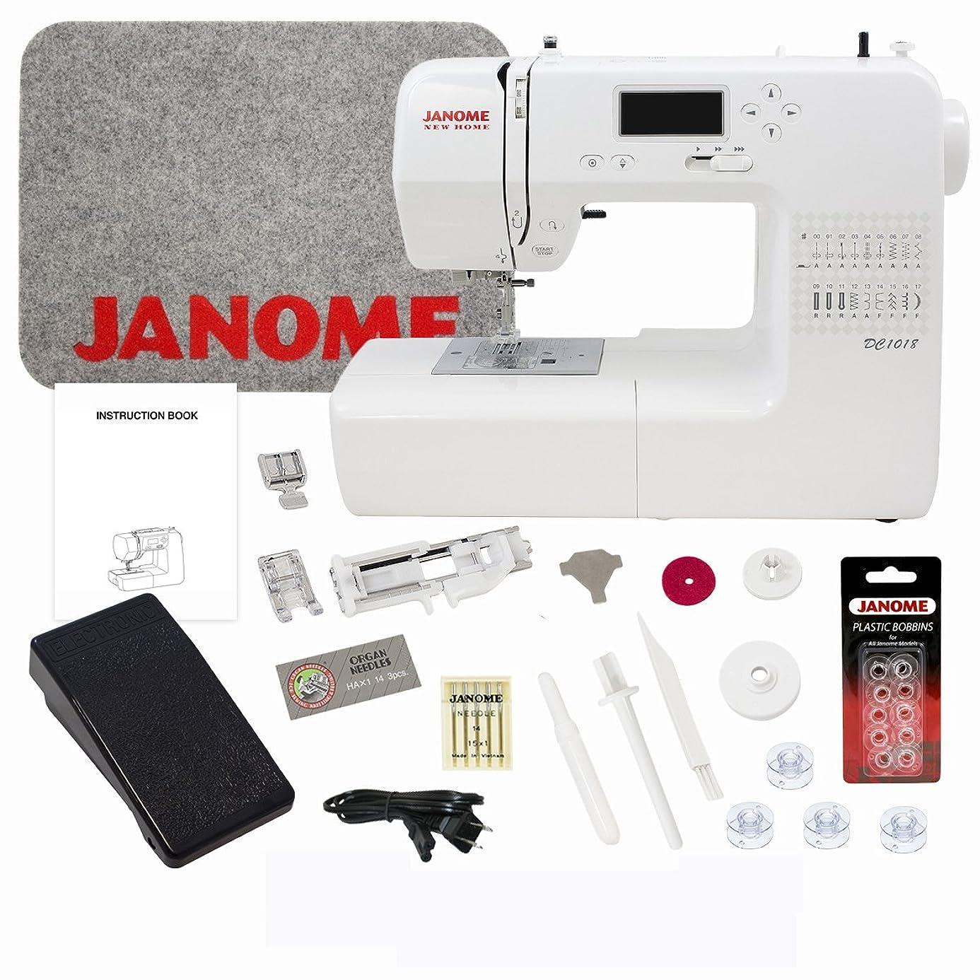 Janome DC1018 Sewing Machine with Bundle nmz4306401