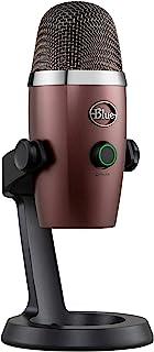 Blue Microphones Yeti Nano Micrófono USB de Condensador Profesional con múltiples Patrones de captación y monitoreo, sin l...