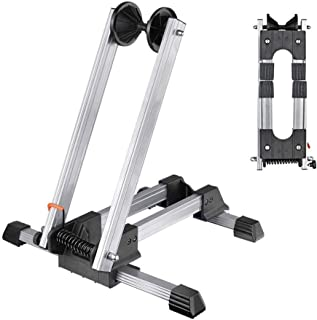 Sports Foldable Alloy Bicycle Stand Bike Floor Parking...