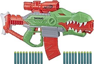 NERF DinoSquad Rex-Rampage Motorized Dart Blaster,...