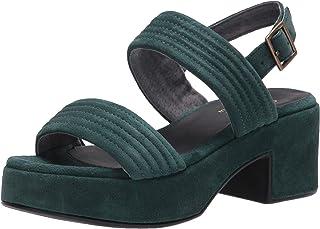 Seychelles Women's Platform Wedge Sandal, Emerald, 7.5 M