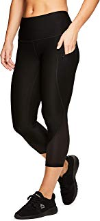 RBX Active Women's Fashion Capri Legging with Mesh Inserts