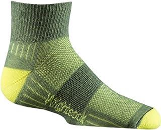Wrightsock Coolmesh II Kids Qtr Sock