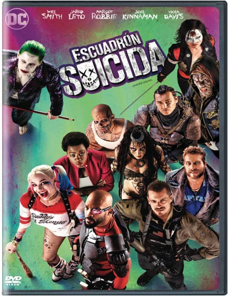Amazon Com Escuadron Suicida Version En Espanol Y Portugues Region 1 4 Suicide Squad Spanish And Portuguese Version Will Smith Jared Leto Margot Robbie Movies Tv