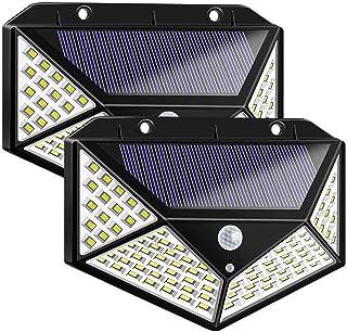 Kaemma 20 LED Luci solari Sensore di Movimento Applique da Parete Lampada da Giardino per Esterni Impermeabile per Esterni Impermeabile
