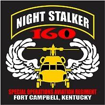 US Army 160th SOAR Heli Tab Die Cut Decal