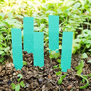 【Christmas Gift】Pvc Material 100Pcs Waterproof Pot Label Marker Sign, Easy To Use Marker Nursery Garden Stake Tags Seed La...