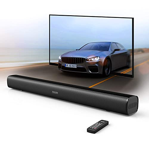 TV Sound Bar with Remote: Amazon com