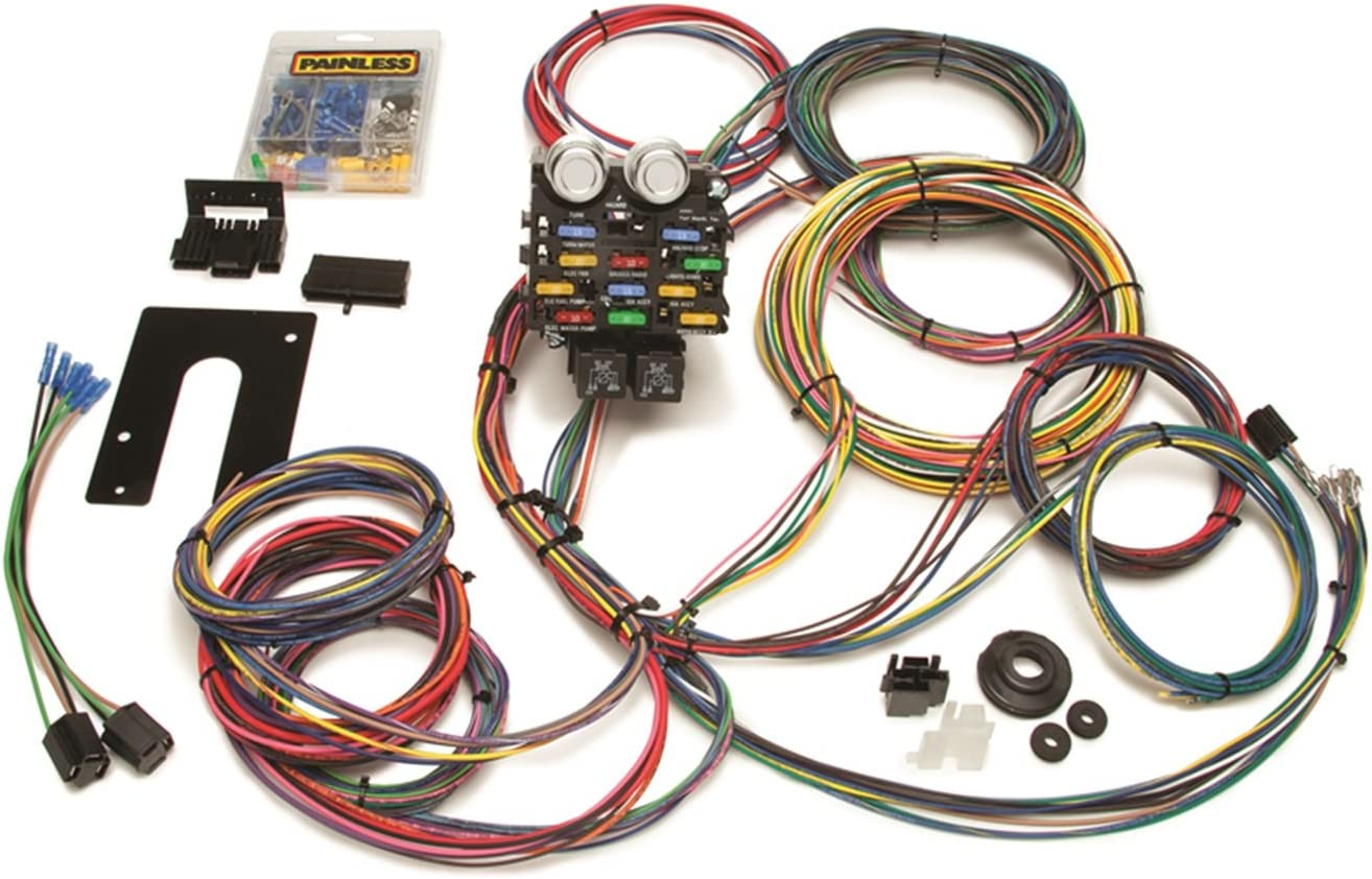 Painless Topics on TV famous 50002 Race Car Kit Harness Wiring