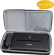Aproca Hard Carrying Travel Case Fit Canon PIXMA iP110 Wireless Mobile Printer (Black)