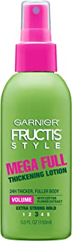 Garnier Fructis Style Mega Full Thickening Lotion All Hair Types, 5 Ounce