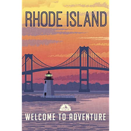 Indiana Welcome To Adventure Retro Travel Art Poster 12x18 inch