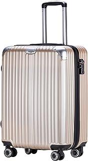 TTOvaligeria[TTOバリジェリア] スーツケース キャリーバッグ 軽量 静音 TSAロック搭載 ファスナータイプ 大型 容量拡張 機内持ち込み