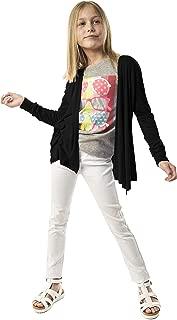 KIDPIK Cardigan for Girls – Open Front Long Sleeve Fall Sweater