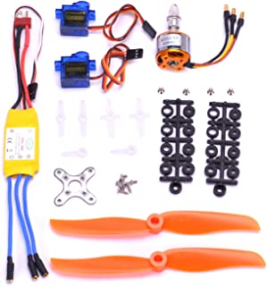 FPVKing RC 2212 2200KV Brushless Motor+30A ESC Electric Speed Controller+6035 Propeller+ SG90 9G Micro Servo for RC Fixed Wing Plane Helicopter