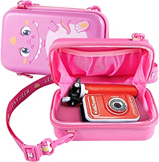 Leayjeen Kids Camera Case Compatible with VTech KidiZoom Creator Cam Birthday Gift (Case only) (Pink)