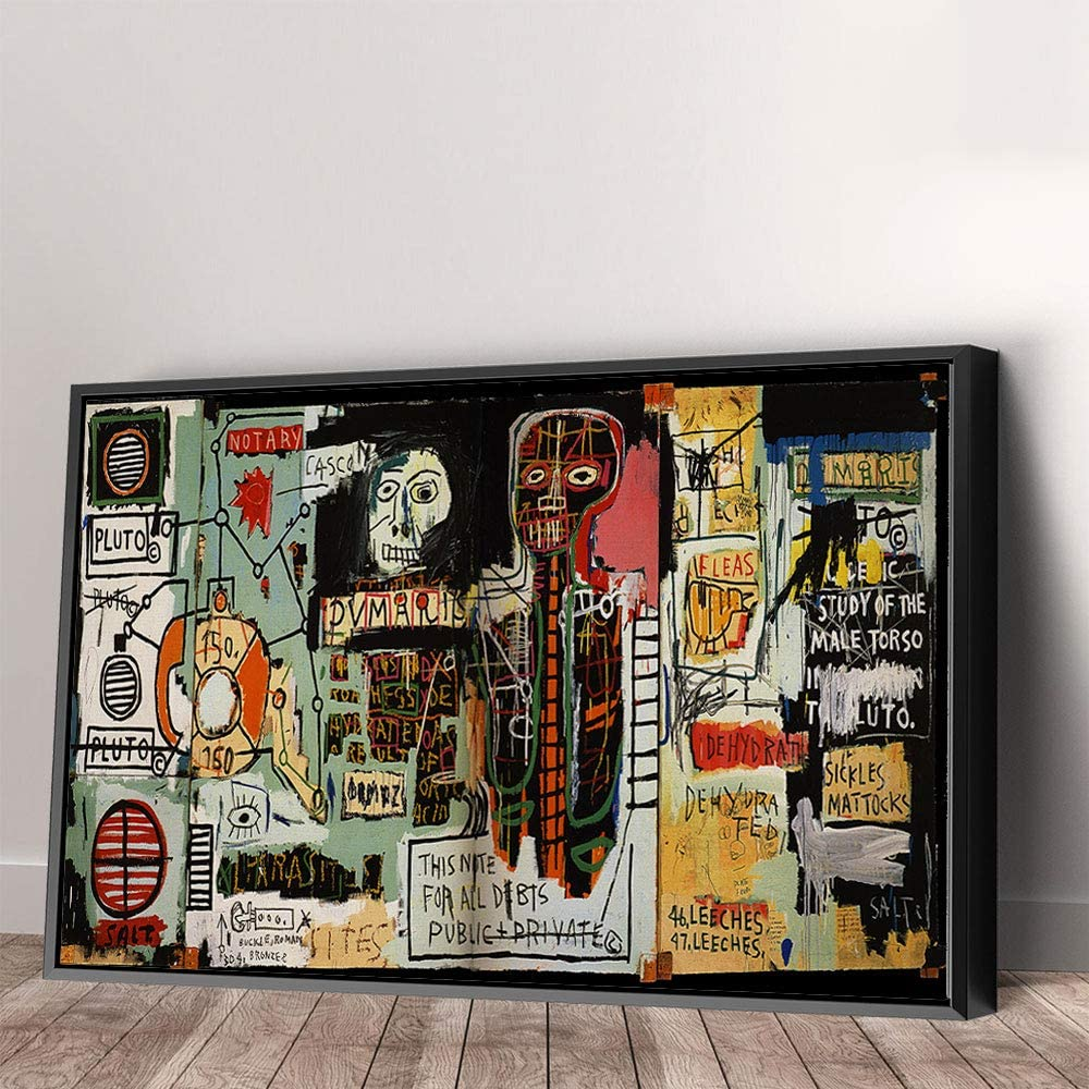 Notary 2021 model by Jean-Michel Basquiat Abstract Superior Art Canvas Home Wall