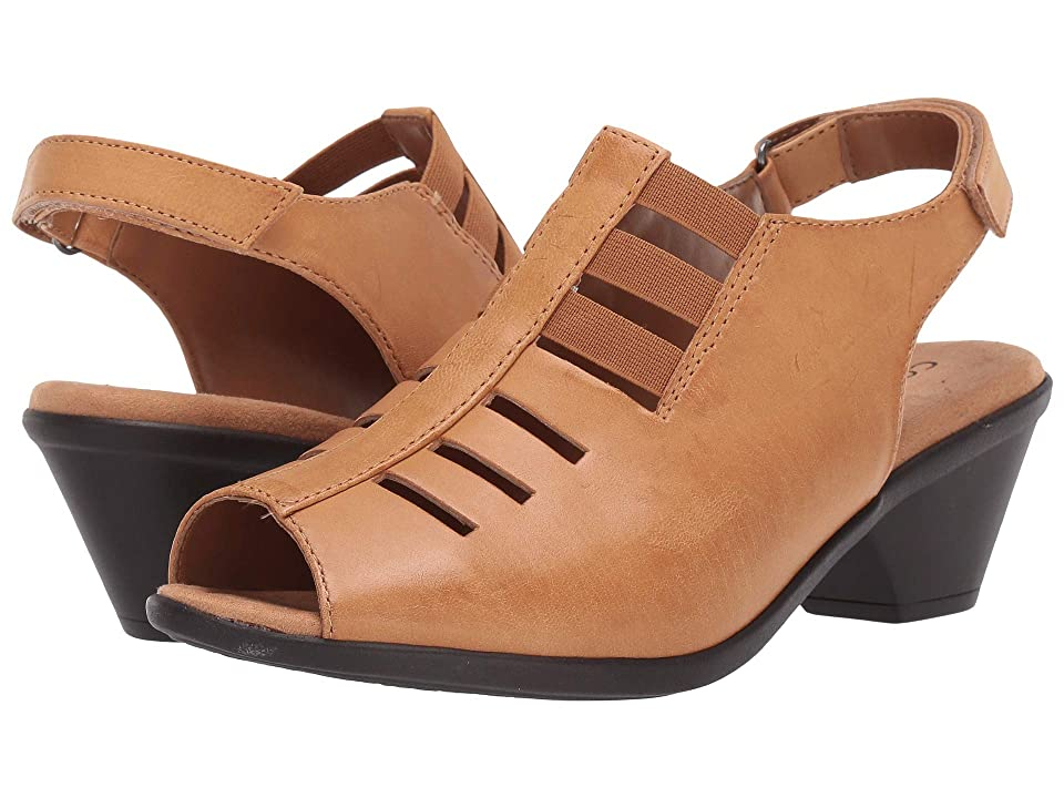 4c4b613548da Comfortiva Faye (Desert Sand Talco) Women s 1-2 inch heel Shoes