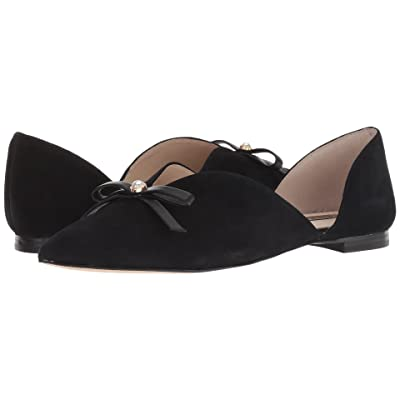Louise et Cie Cly (Black Eco Kid Suede/Eco Sheep) Women