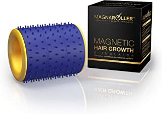 MagnaRoller Scalp Massager for Hair Growth - Hair Loss Treatment for Men and Women with Thinning, Dry and Dull Hair - Increases Blood Flow to Scalp & Hair follicles for Thicker, Healthier Hair.