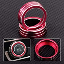 Car Aluminum Ac Switch Buttons Cover Air Condition Climate Control Ring Knob Trim Fit For Honda For Civic 2016 2017
