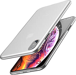TOZO for iPhone Xs Max Case 6.5 Inch (2018) Ultra-Thin Hard Cover Full Body Slim Fit Shell [0.35mm] World's Thinnest Prote...
