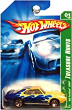 Hot Wheels 2007 Treasure Hunt 1969 Pontiac GTO Blue Green with Flames