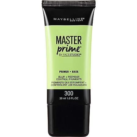 Maybelline New York Face Studio Master Prime Primer, Blur + Redness Control, 1 Fl Oz (1 Count)