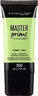 Maybelline New York Face Studio Master Prime Primer, Blur + Redness Control, 1 Fluid Ounce