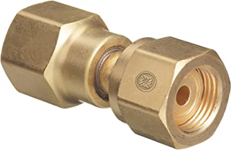 Western Enterprises 806 Brass Cylinder Adaptors, from CGA-320 Carbon Dioxide to CGA-540 Oxygen