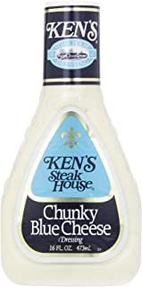Ken's Foods Chunky Blue Cheese Dressing, 16 oz