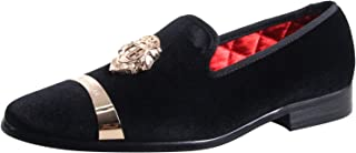 Men's Luxury Wedding Party Loafers Velvet Prom Shoes