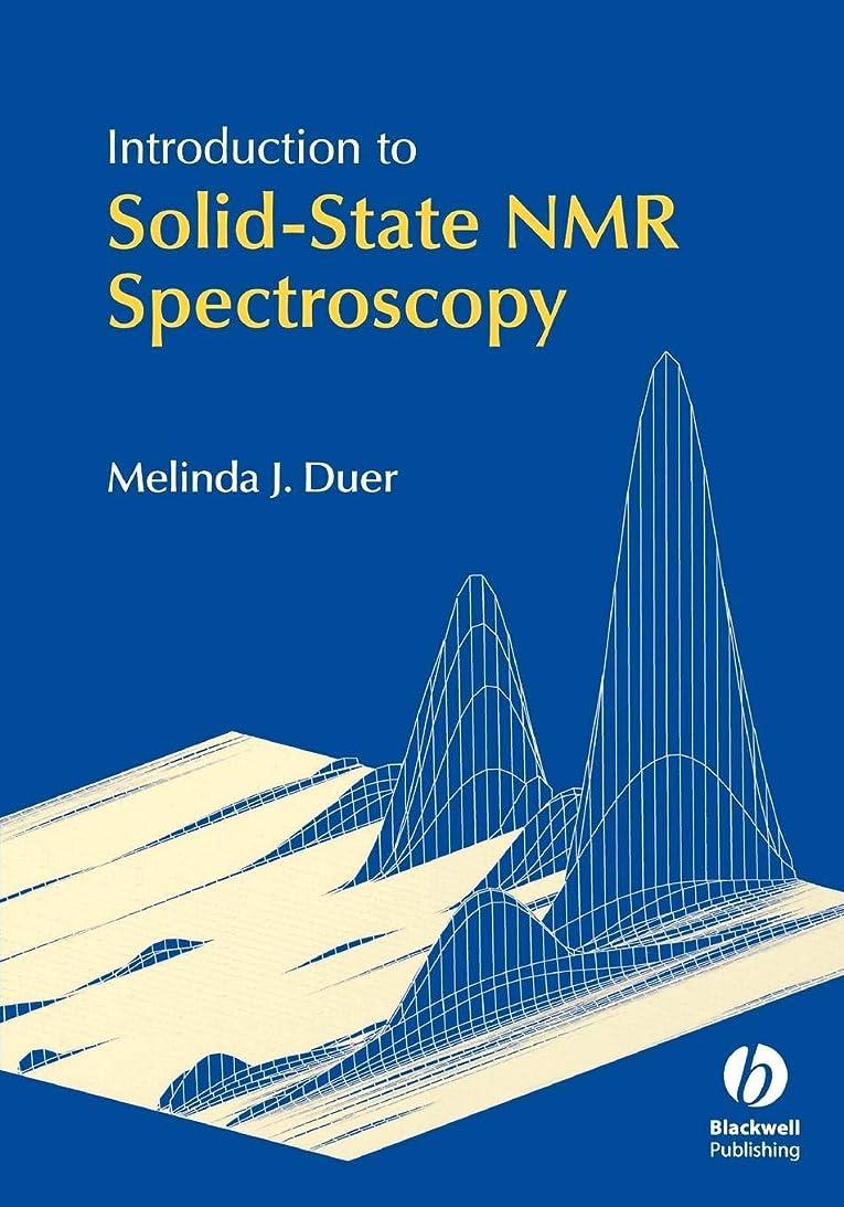 テレックス民兵甥Introduction to Solid-State NMR Spectroscopy
