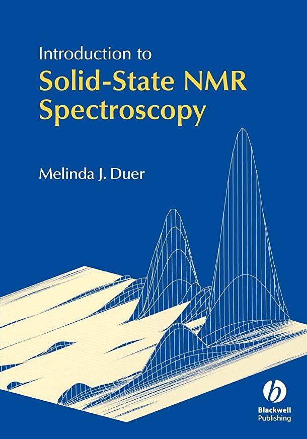 豊富な六犯すIntroduction to Solid-State NMR Spectroscopy