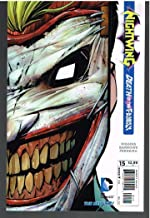 Nightwing #15 With Die-Cut Joker Mask Cover 2013 New 52 Death of the Family