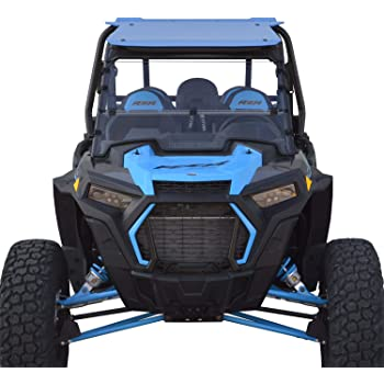2019 and newer Polaris RZR XP / XP4 1000 / Turbo Full Folding Windshield - SCRATCH RESISTANT - True Full to Half windshield. Easy on/Easy off. Full, Half or Off! - Hard CoatMade in America!