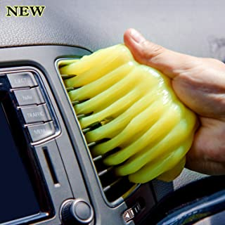 ColorCoral Dust Cleaning Gel Universal Dust Remover for Keyboard Cleaning Car Dashboard Detailing Home and Office Dust Cleaning Electronic Dusting Sllime Putty 160G