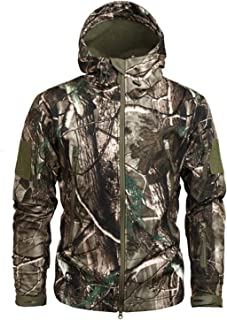 Fairy-forest Men's Military Camouflage Fleece JacketTactical Clothing Multicam Male Camouflage Windbreakers