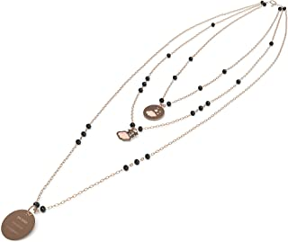 10 Buoni Propositi Collana Donna Gioielli Crystal Trendy cod. N9815RO/N