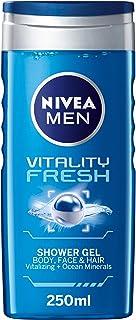 Nivea Men Vitality Fresh Shower Gel Masculine Scent, 250 ml