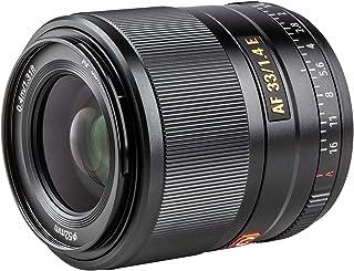 VILTROX AF 33mm F1.4 E プライムレンズ ソニー Sony Eマウント ミラーレス用 単焦点レンズ 交換レンズ 瞳AF/動画AF対応 軽量 コンパクト 日本語取扱説明書 a6500/a6600/a7III/a7RIII/a7...
