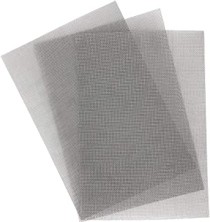 REMOPEST 304 Stainless Steel Wire Mesh, Aperture 1mm Wire Diameter 0.4mm, 12x8 Inches, 3 Sheets