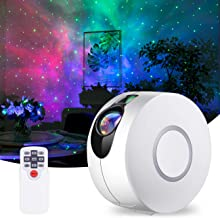 Star Projector, Galaxy Projector with LED Nebula Cloud, Laser Star Light Projector with Remote Control for Kids Adults Bed...
