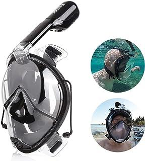 FEMOR Máscara de Buceo 180 Grados de Visión Diseño con