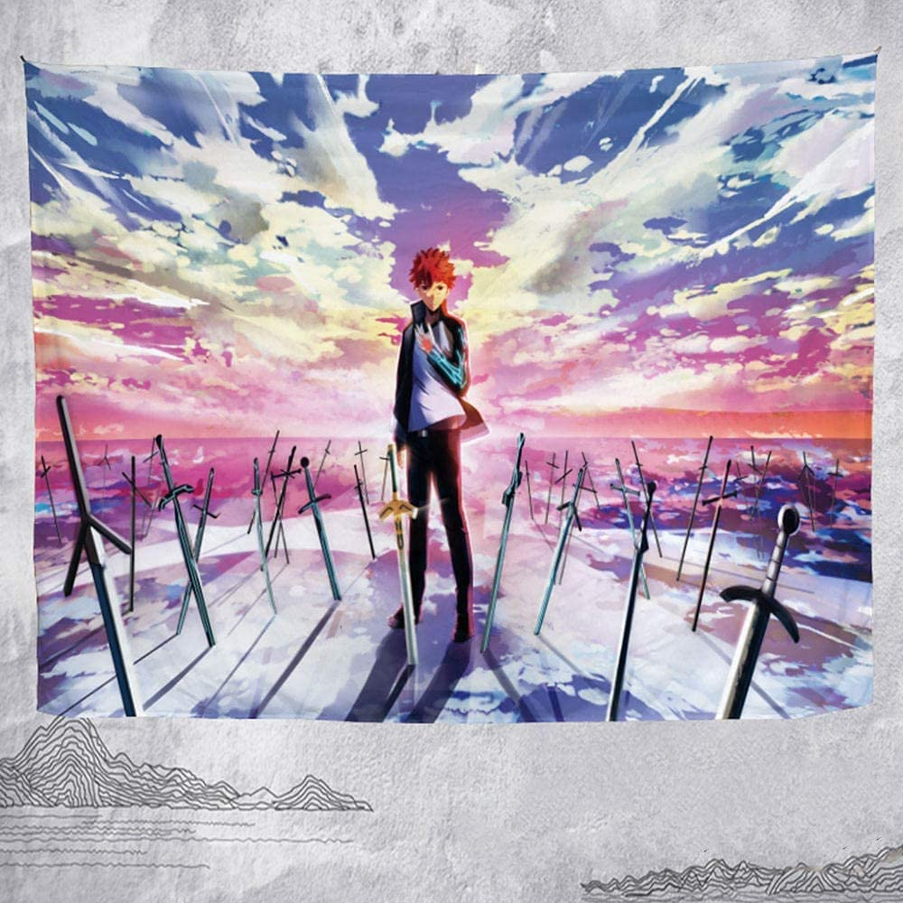 Wall Tapestries Holy Max 82% OFF Grail Anime Tapestry Save money Hanging