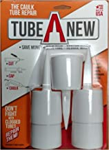 TubeANew by Tube A New - The Solution for Clogged Caulk Tubes, Caulk Nozzles, and Caulk Tips - When The Caulk Savers & Caps Don't Work