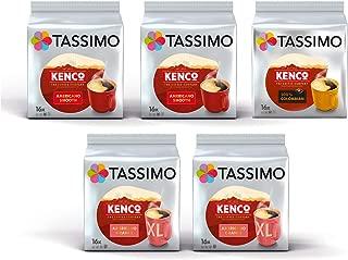 Tassimo T-Discs Kenco Multipack Americano Smooth, Americano Grande, Pure Colombian